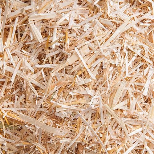 gehakseld tarwestro bodembedekking